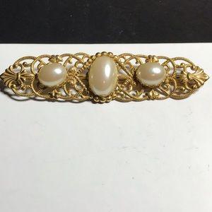 Vintage Miriam Haskell brooch